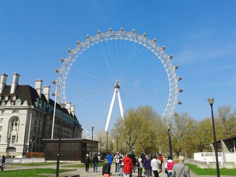 eye london arkivbild