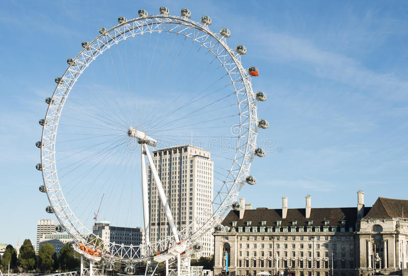 Download The eye London editorial photography. Image of travel - 35695552