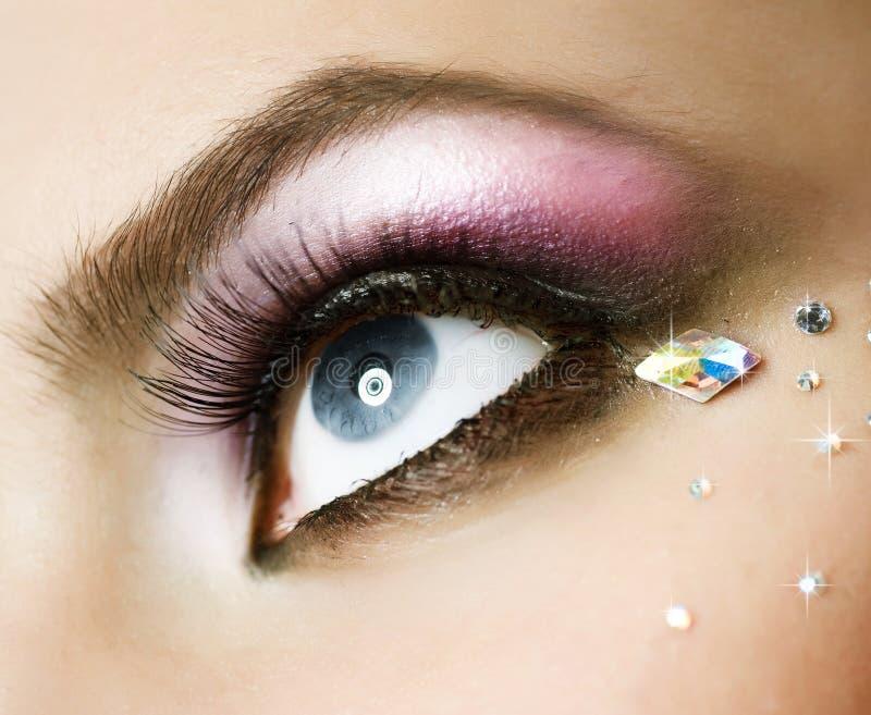Download Eye Makeup stock photo. Image of beautiful, background - 16390700