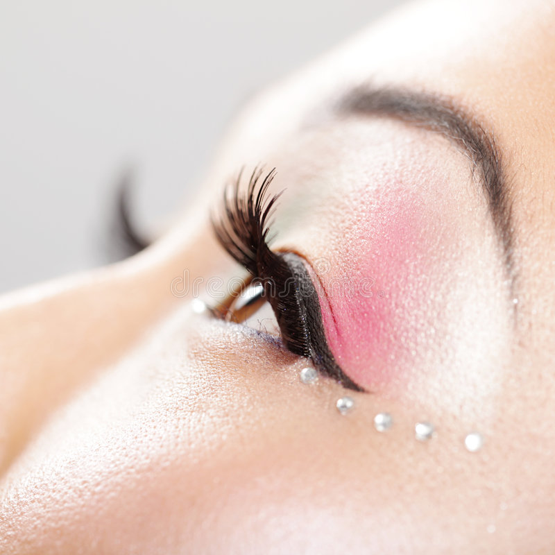Download Eye makeup detail stock image. Image of elegant, healthy - 8013043