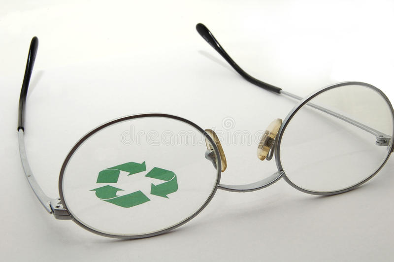 Download An Eye On Recycling stock image. Image of friendly, arrows - 14859707
