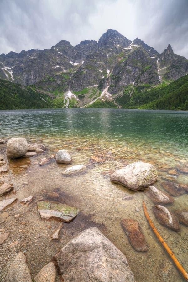 Download Eye Of The Sea Lake In Tatra Mountains Stock Image - Image: 32055863