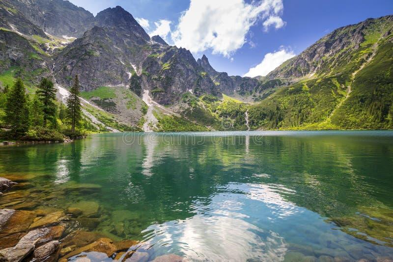 Download Eye Of The Sea Lake In Tatra Mountains Stock Image - Image: 32164211