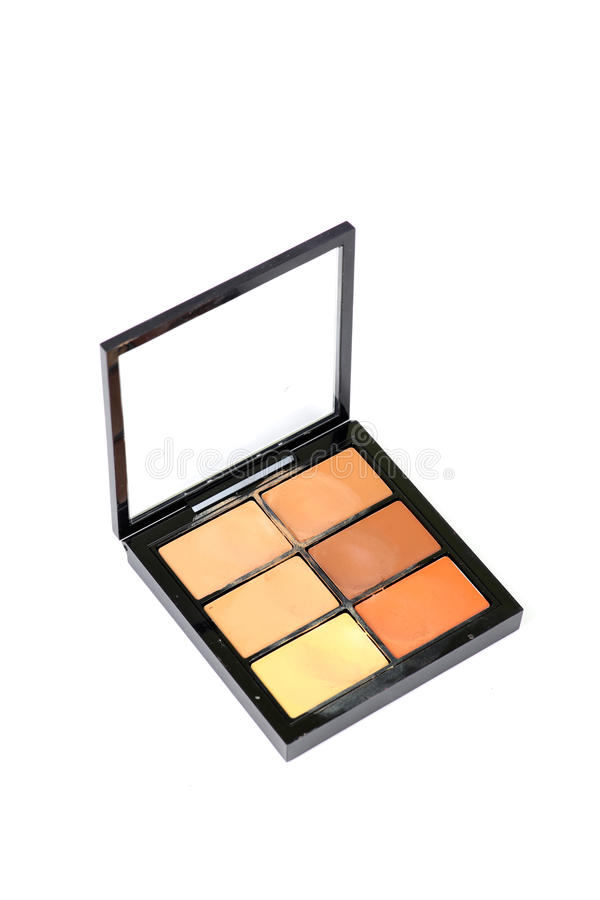 Eye shadow makeup colours stock photography