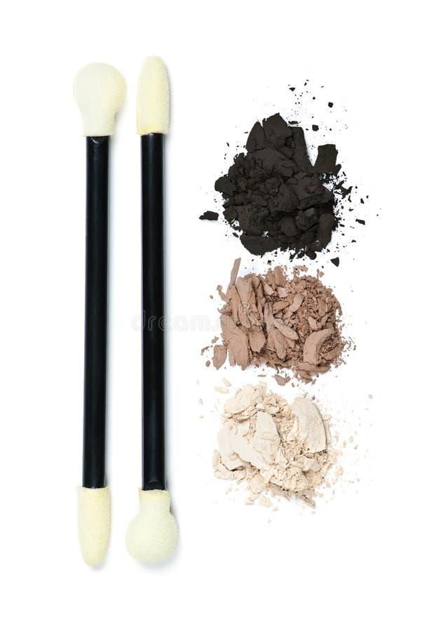 Free Eye Shadow Makeup With Applicators Stock Photos - 16125893