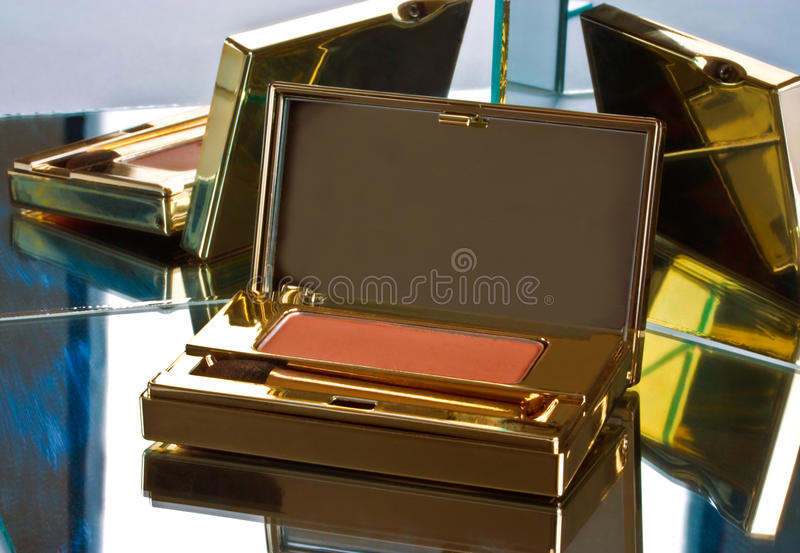Eye Shadow And Mirrors Royalty Free Stock Photos