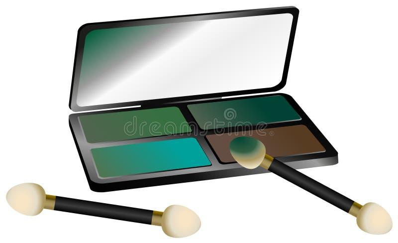 Download Eye Shadow Set stock vector. Illustration of symbol, image - 18690830