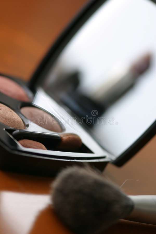 Download Eye shadows stock image. Image of colors, make, beauty - 115699