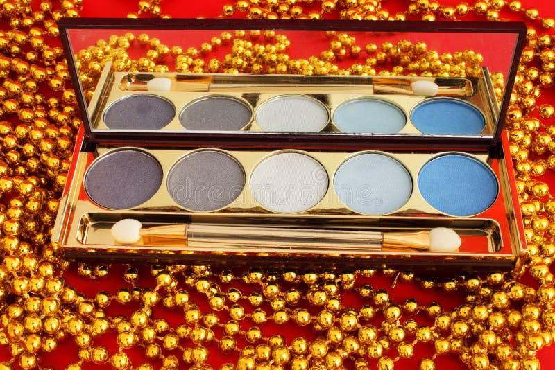 Download Eye shadows stock image. Image of elegance, blush, brush - 12784129