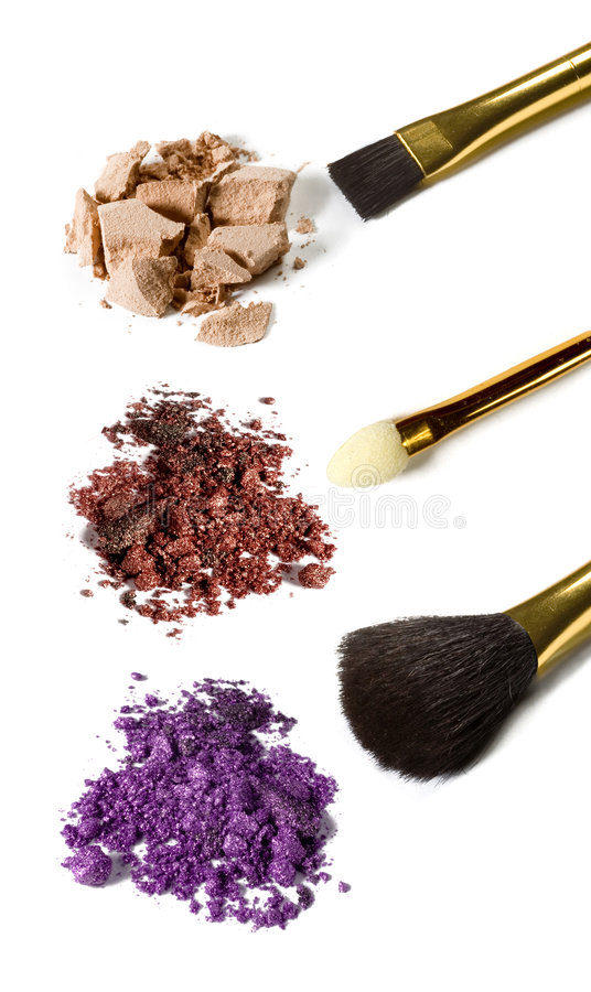 Download Eye shadows stock photo. Image of color, applicator, makeup - 8650454