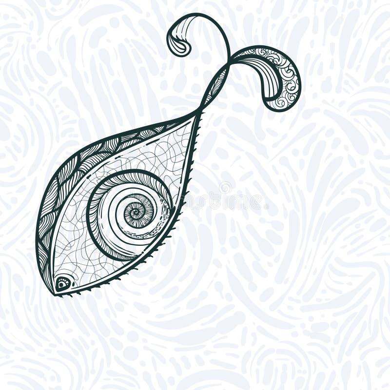 Eye shaped fish stock photos