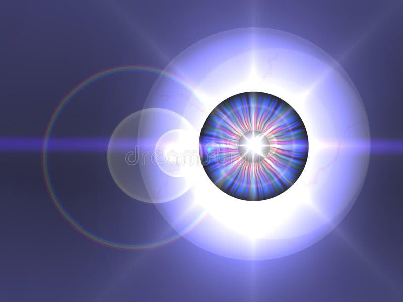 Eye Star royalty free illustration