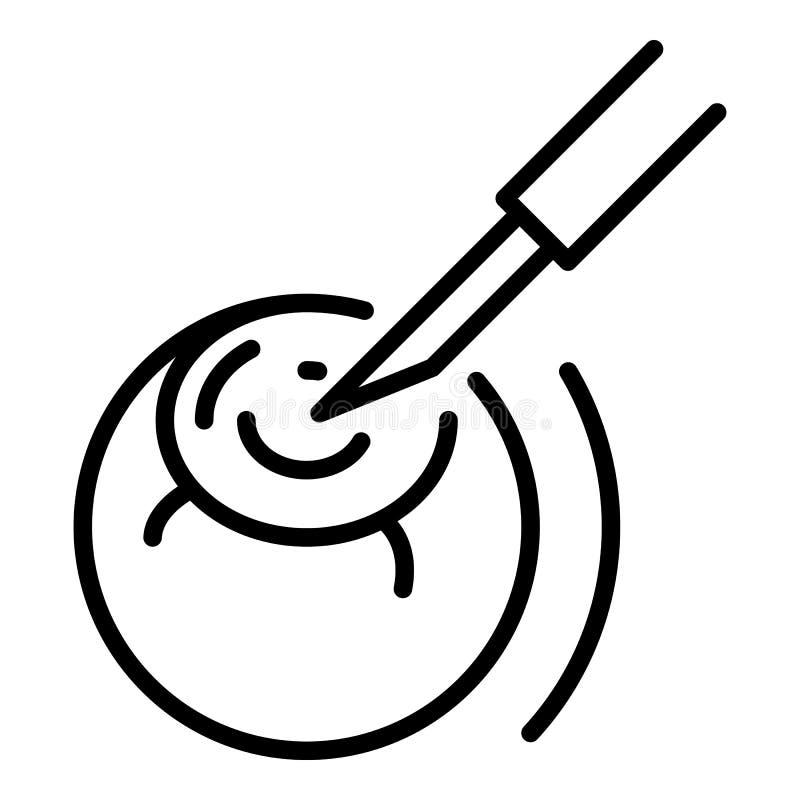 Eye surgery icon, outline style. Eye surgery icon. Outline eye surgery vector icon for web design isolated on white background vector illustration