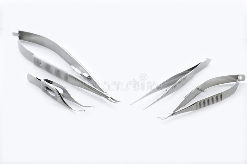 Eye Surgery Instruments royalty free stock images