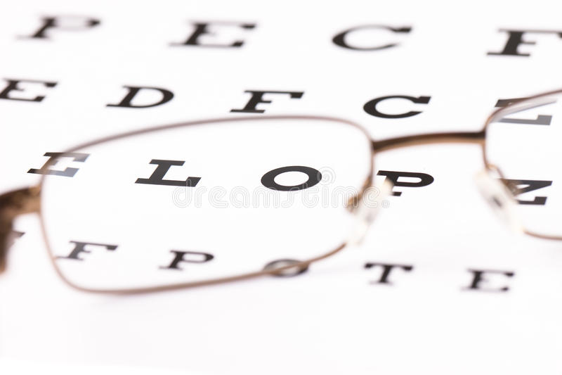 Download Eye Test stock image. Image of medicine, eyesight, focus - 19367477