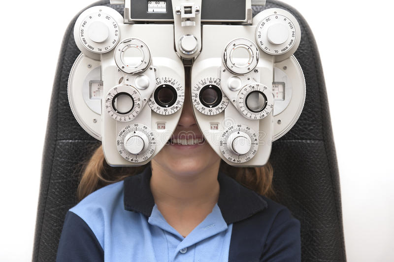 Download Eye test stock photo. Image of healthcare, patient, optic - 23166406