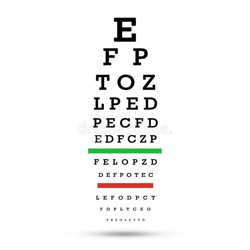 Eye Test Chart Erkalnathandedecker