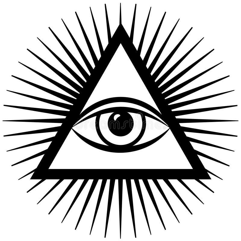eye third stock illustrationer