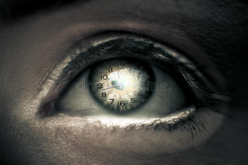 Download Eye Of Time stock image. Image of parts, seeing, hours - 17744365
