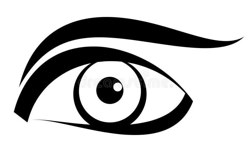 eye vector stock vector illustration of blue cosmetic 4514126 rh dreamstime com eye vector free eye vector free download