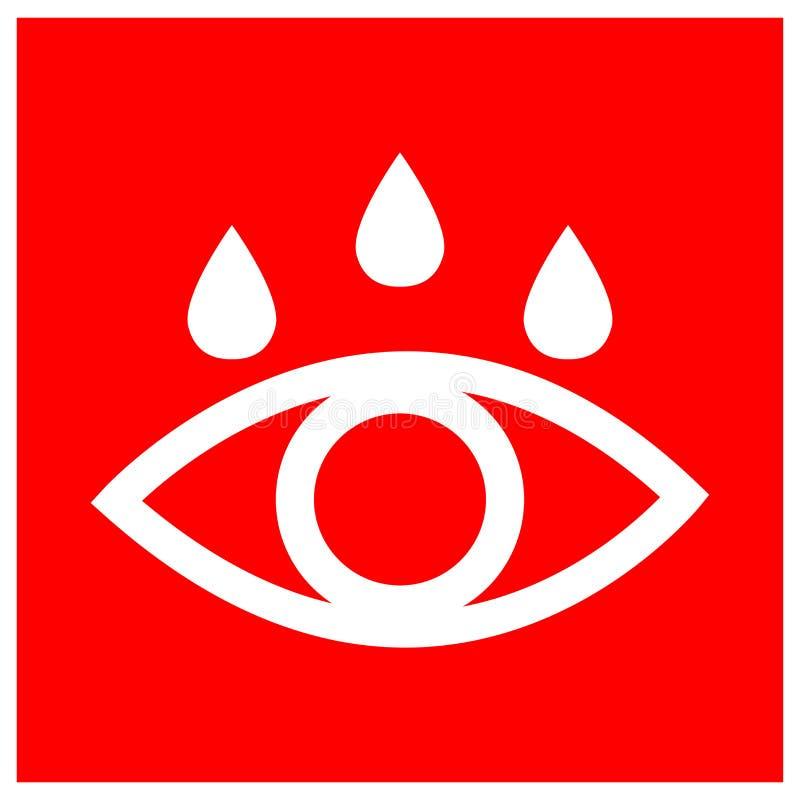 Free Eye Wash Bay Symbol Sign, Vector Illustration, Isolate On White Background Label .EPS10 Stock Image - 220686721