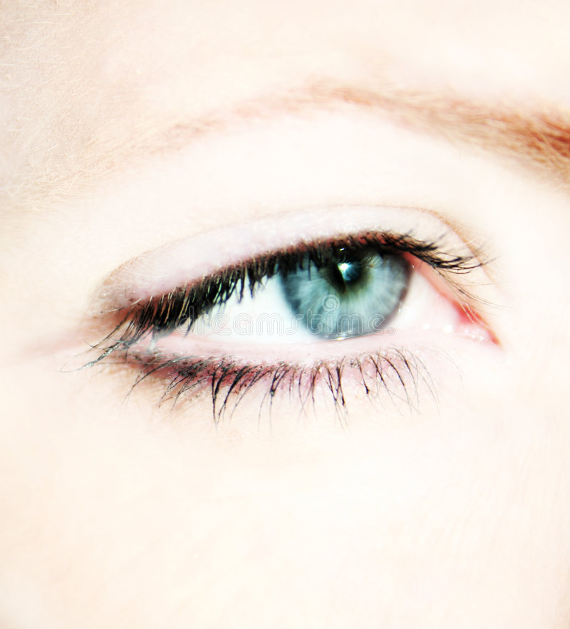 Eye Of A Woman Royalty Free Stock Photography