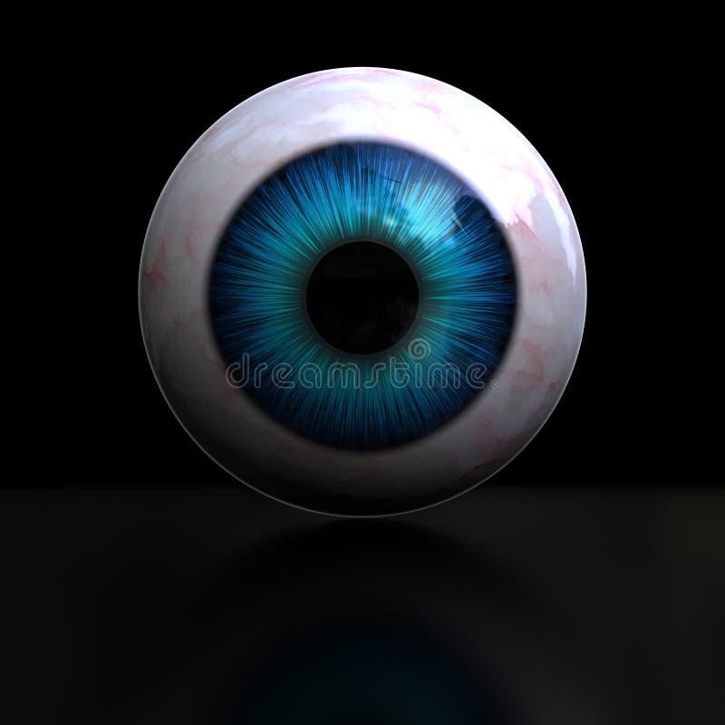 Download Eyeball stock illustration. Illustration of illustration - 13349307