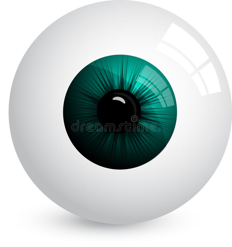Download Eyeball stock vector. Image of abstract, clear, medical - 17795668