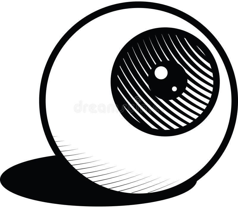 eyeball ilustracji