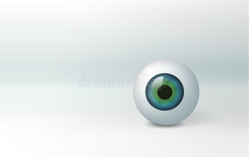 eyeball royalty ilustracja