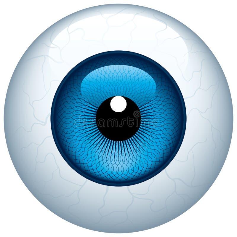 eyeball ilustración del vector