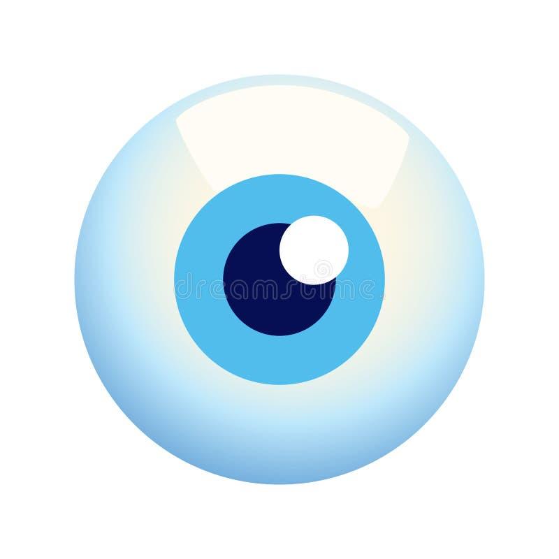 eyeball ilustracja wektor