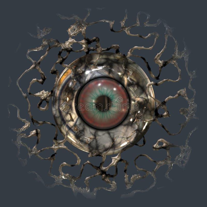 Eyeball vector illustration