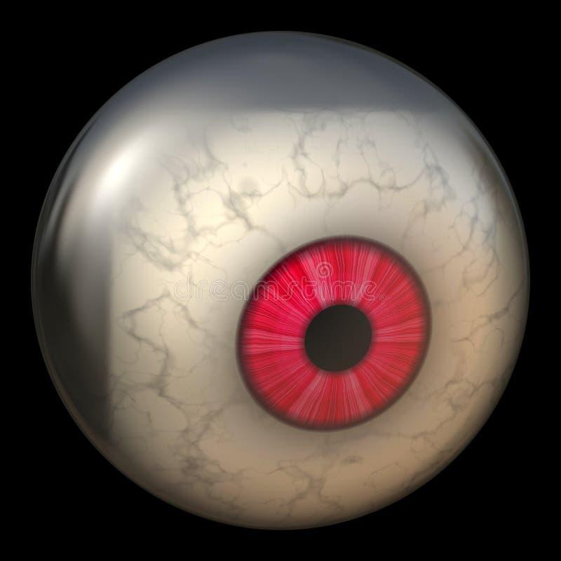 eyeball występować samodzielnie royalty ilustracja