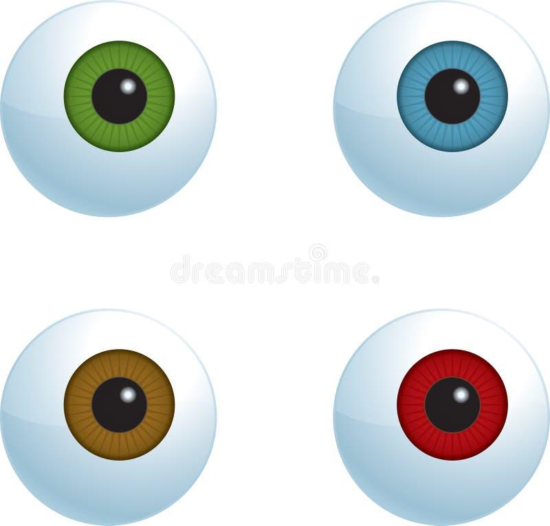 Eyeballs Stock Image
