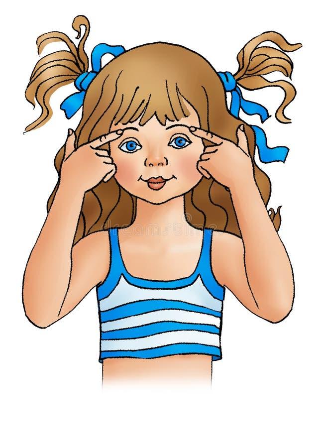 Eyebrow vector illustration