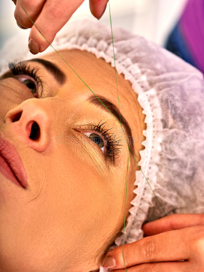 Eyebrow Threading Stock Images - Download 268 Royalty Free Photos