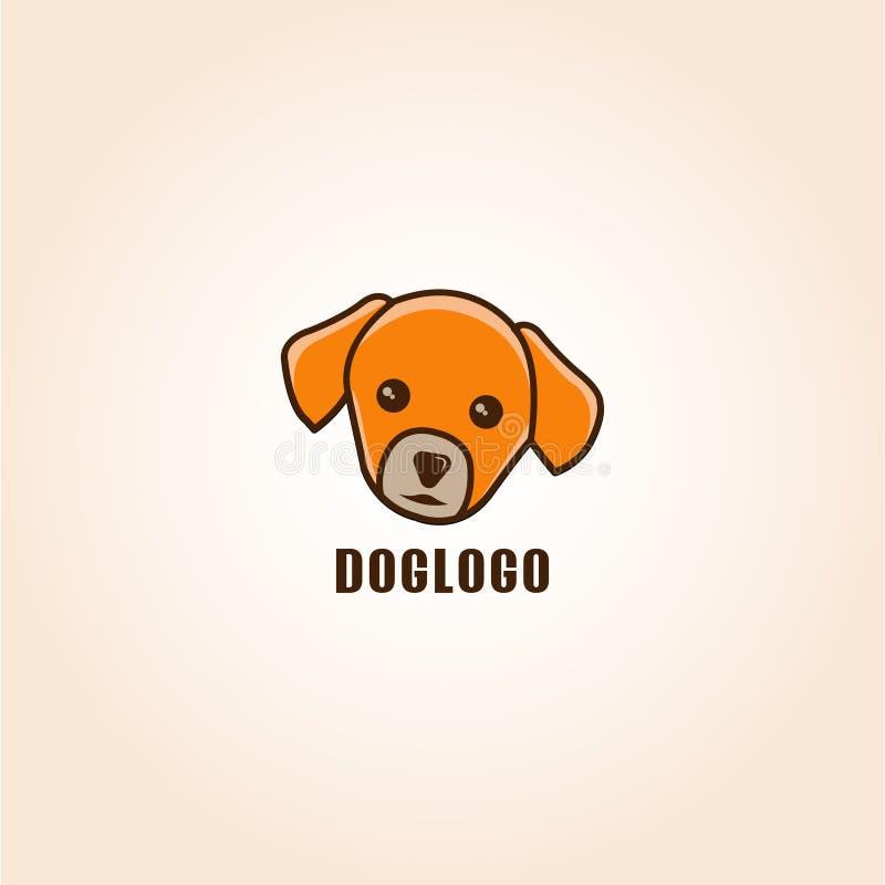 Eyecatching вектор логотипа собаки или любимца стоковое фото