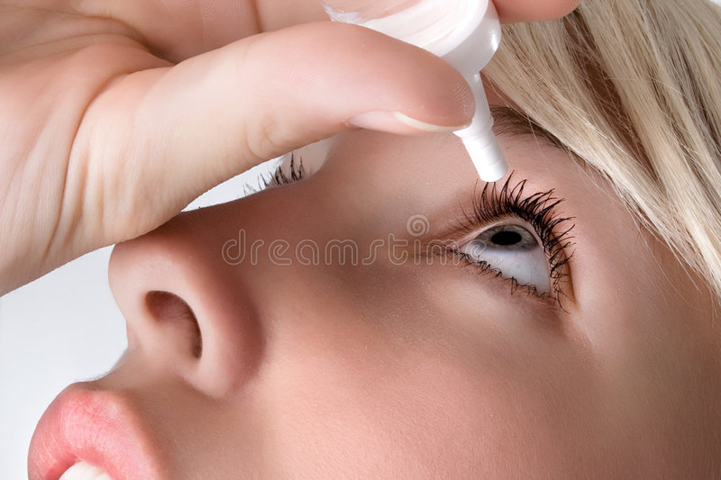 Eyedroppers stockbild