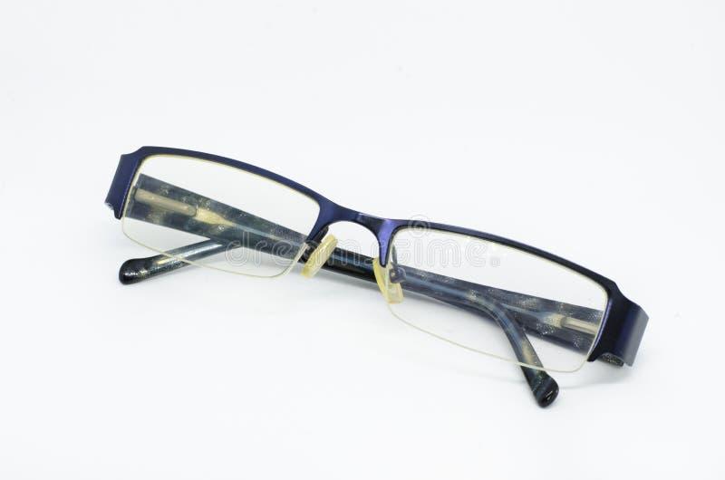 Eyeglass изолированный на белой предпосылке стоковые изображения