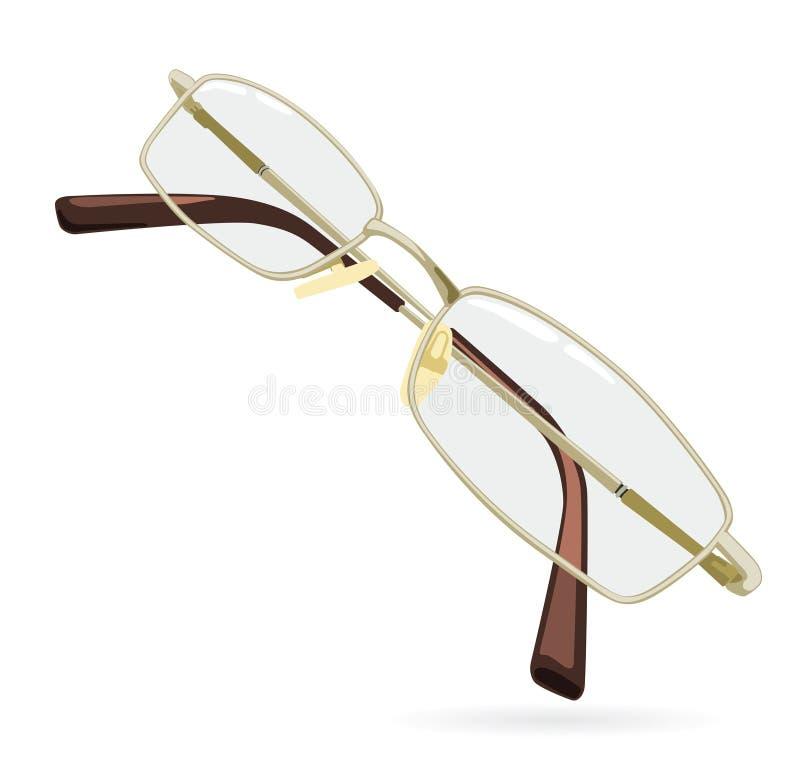 Download Eyeglass ilustracja wektor. Ilustracja złożonej z read - 13333635