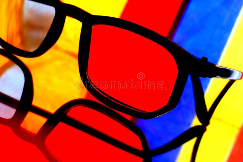 Download Eyeglass Abstract stock image. Image of imagination, black - 4994519