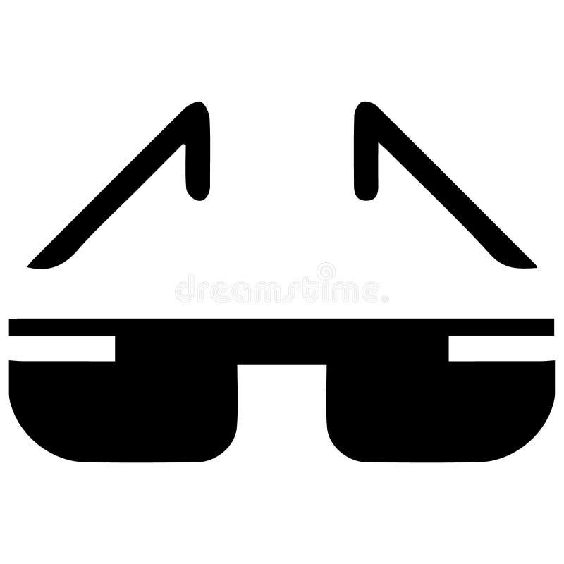 Eyeglass i sunglass ilustracyjni crafteroks ilustracji