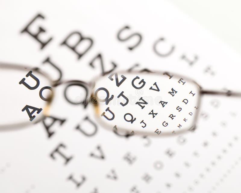 eyeglass rozmyty clearingowy tekst clearingowy zdjęcia stock