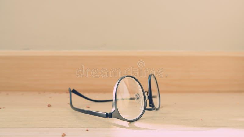 Eyeglasses на поле стоковая фотография