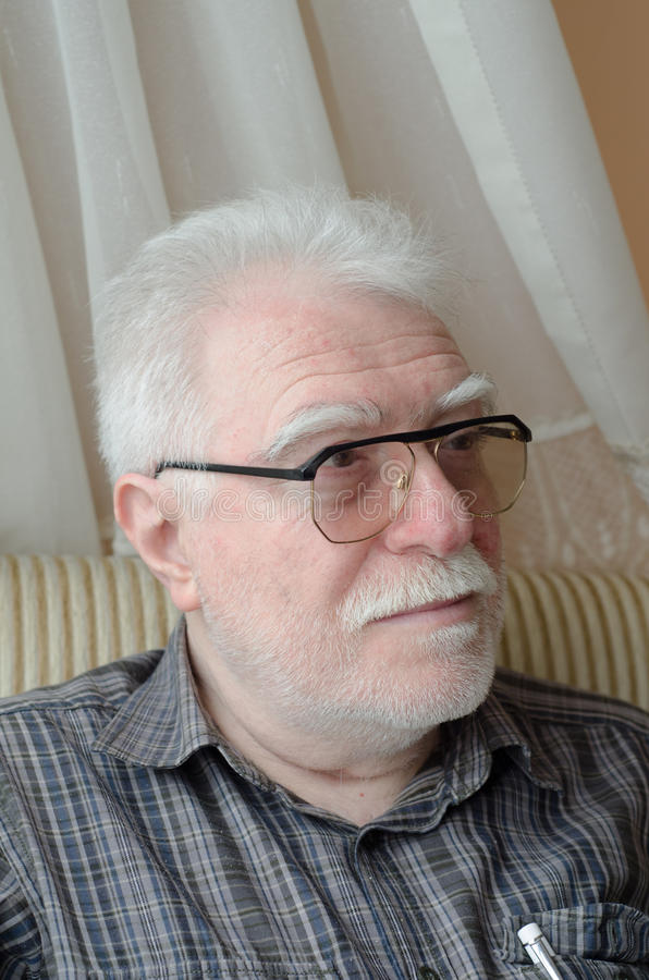 Старший человек стоковая фотография rf