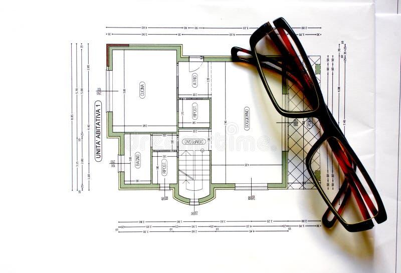 Download Eyeglasses stock photo. Image of look, architect, lack - 16938808