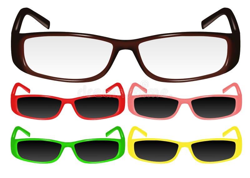 Eyeglasses ilustração stock