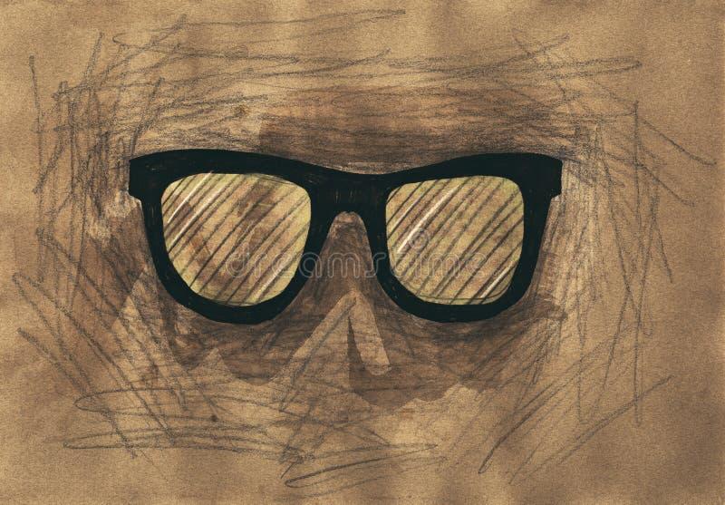 Eyeglasses ilustração do vetor