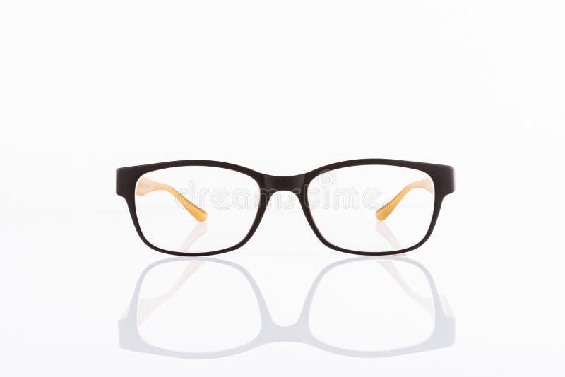 Eyeglasses isolados no branco fotografia de stock royalty free